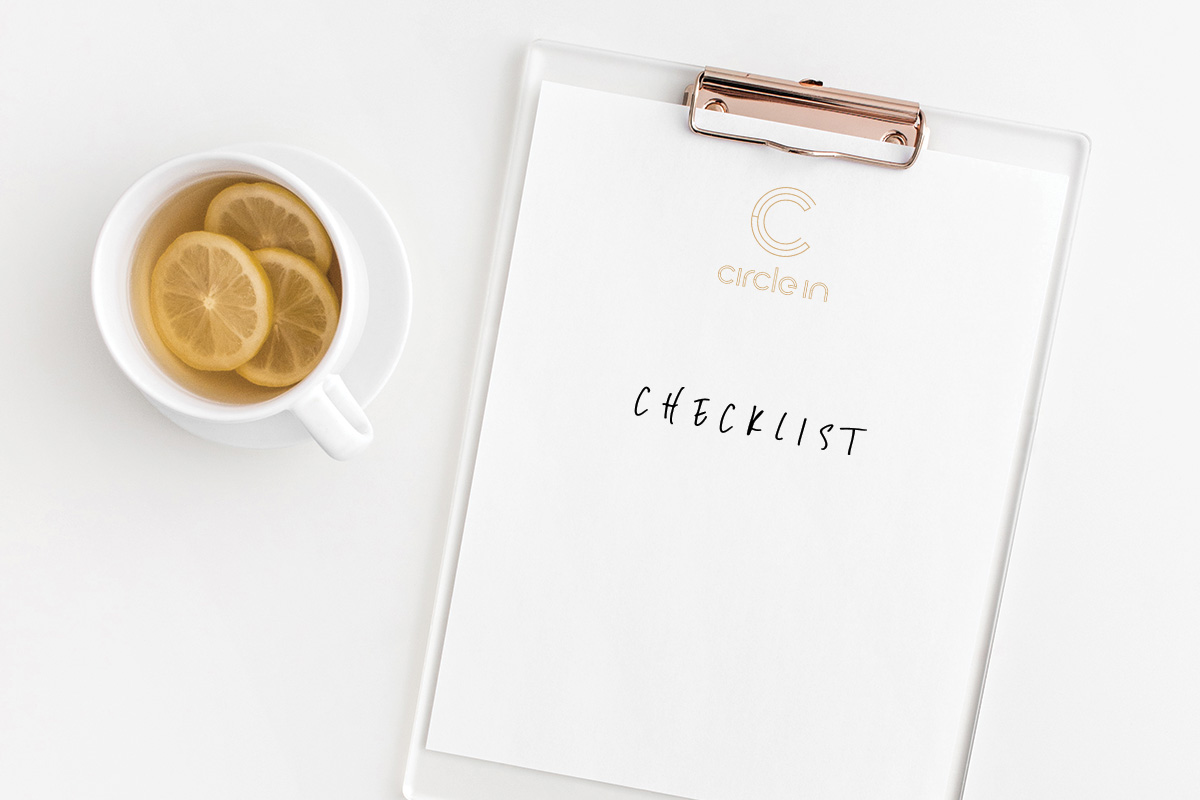 Checklist for a productive meeting